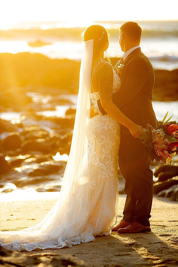 Daniel and Kaleb's Tropical Boho Beach Wedding in Costa Rica by Kevin Heslin Photography