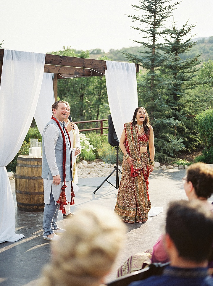 Anjali and Galen's Indian and Western Fusion Wedding in Utah by Kate Olson Photo