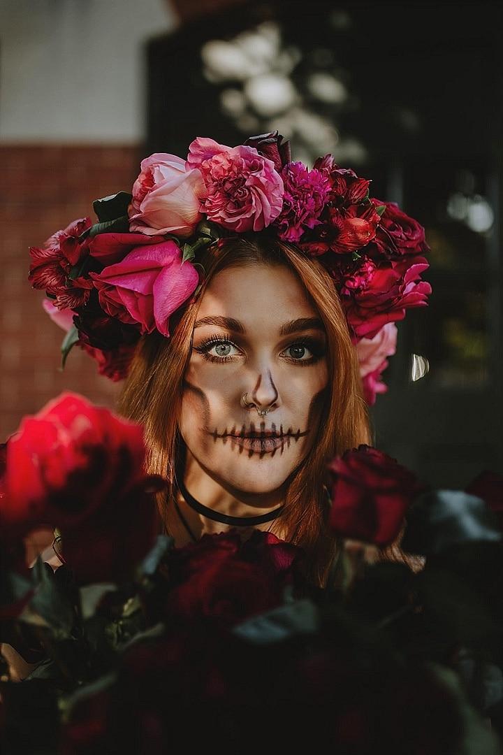 'A Corpse Bride Haunting' Fashion Forward Halloween Wedding Inspiration