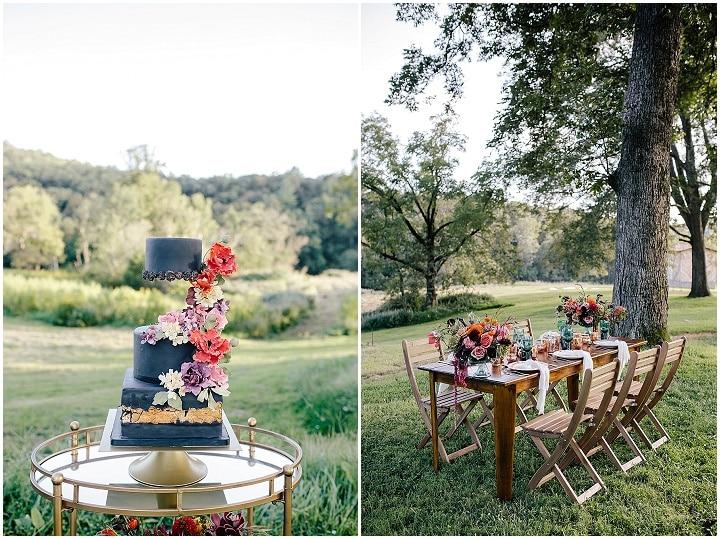 'On The Edge Of Autumn' Modern Wedding Inspiration