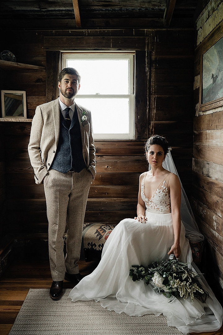 Michelle and Stewart's Romantic Weekend Barn Wedding in California by Sebastien Bicard Photography