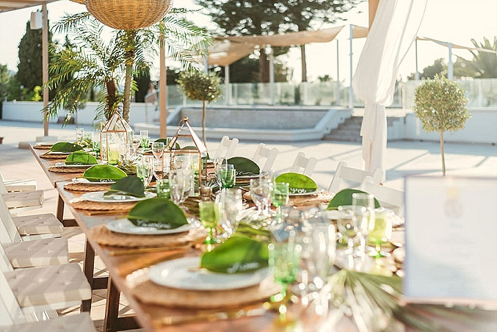 'Balearic Boho with a Tropical Twist' Ibiza Wedding Inspiration