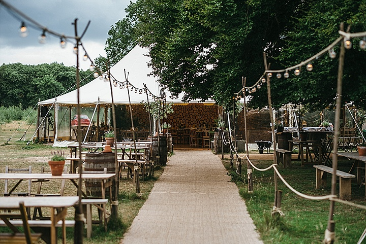 Fiona and Christopher's Magical Woodland Wedding Meets British Summer Garden Party by Simon Biffen