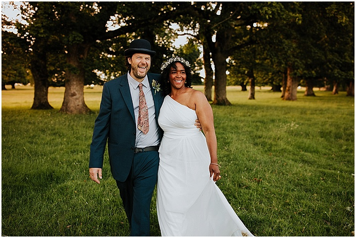 Myiesha and Adam's Intimate Scottish Summer Evening Wedding With Five Guests by Ross Alexander