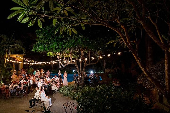 Daniel and Kaleb's Tropical Boho Beach Wedding in Costa Rica by Kevin Heslin Photography