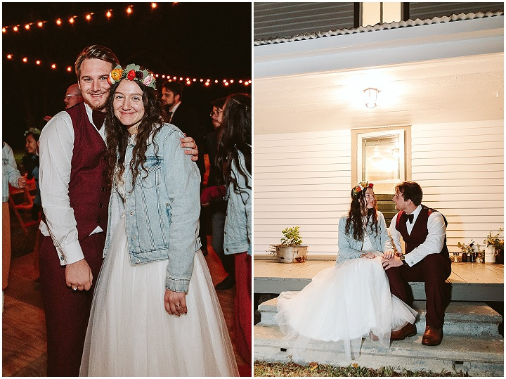 Delaney and Trent's 'Community Based' Thrifty DIY Backyard Wedding by Three Twenty Studio