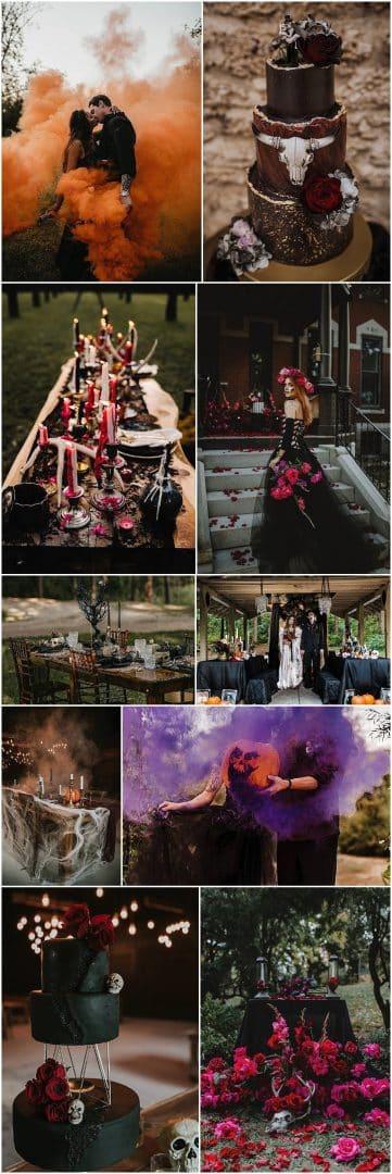 Boho Pins: The Best of Boho – My Top 10 Halloween Weddings Ideas