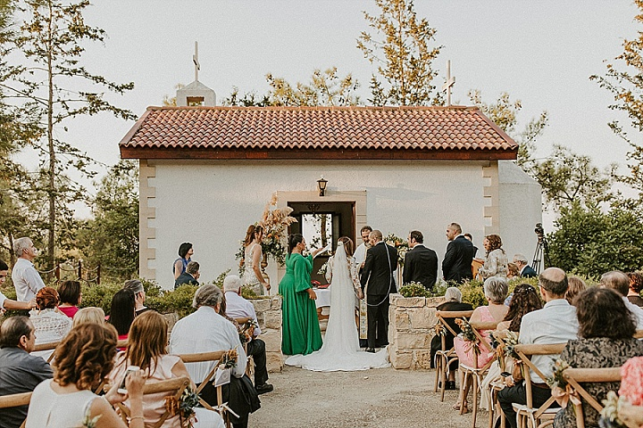 Nicholas and Christiana's 'Fairy Lights and Protea' Stunning Outdoor Wedding in Cyprus by Karina Leonenko Photography