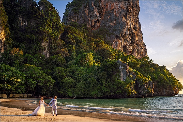Ash and Arran's Stunning Intimate Thailand Wedding in a Cave by Dan Morris