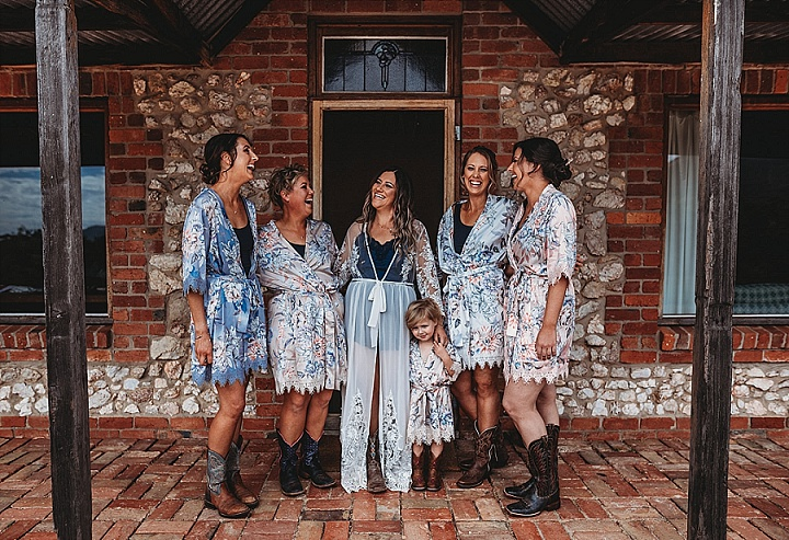 Alyce and Kye's Lake Side 'Boho Chic' Australian Wedding by Justine Missen Photography