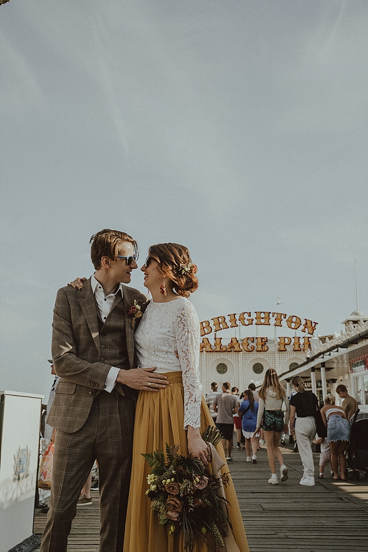 'Transformation, Nature and Love' A Cancelled Wedding Shoot on the Brighton Rooftops