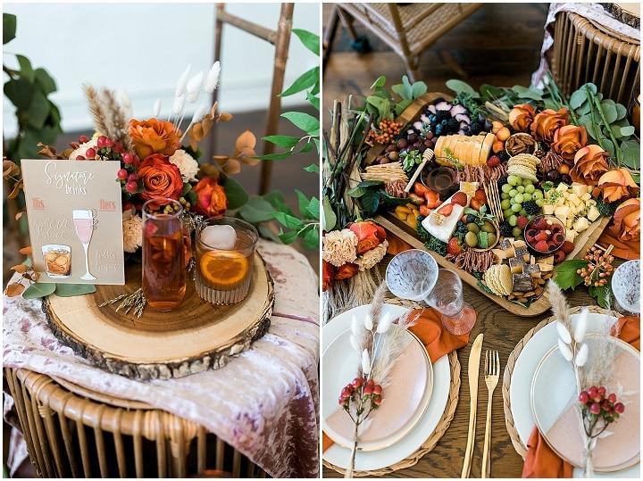 'Modern Bohemian' Natural and Chic Autumnal Wedding Inspiration