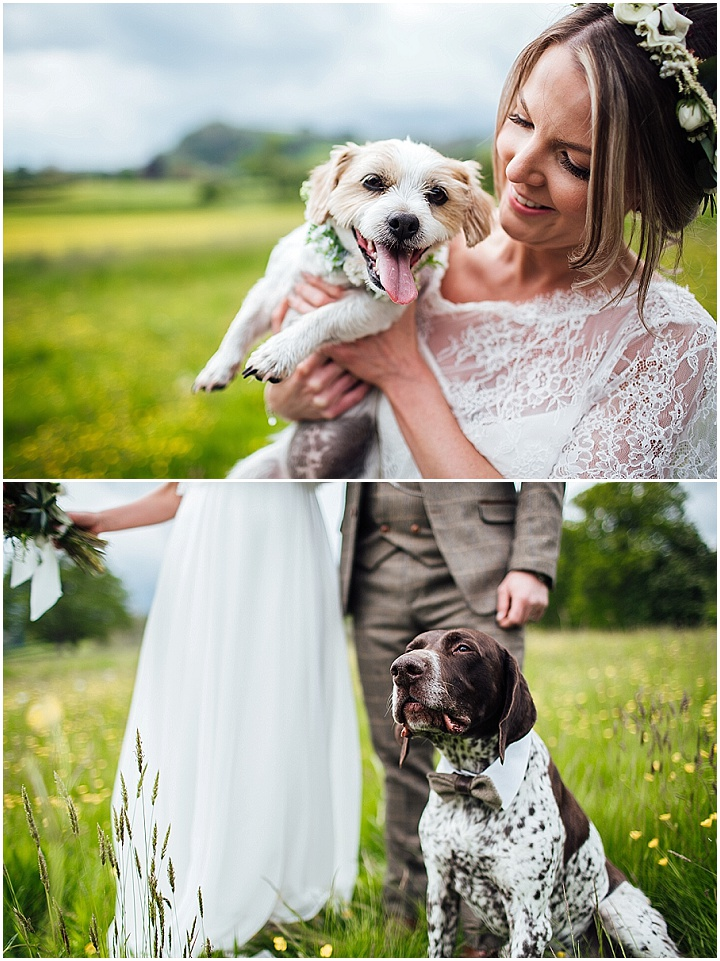 Melissa and Nathaniel's Relaxed Countryside Chic Wedding with a Touch of Boho