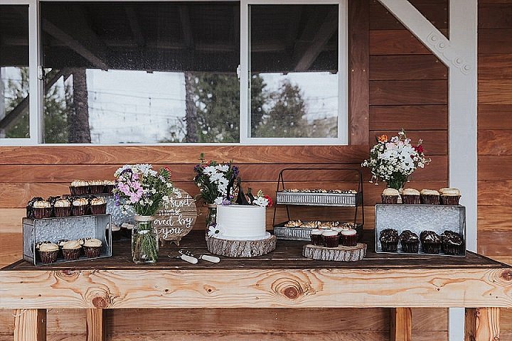 Cory and Karen's Orange Country Rustic Community Farm Wedding by Chrissy Gilmartin Photography