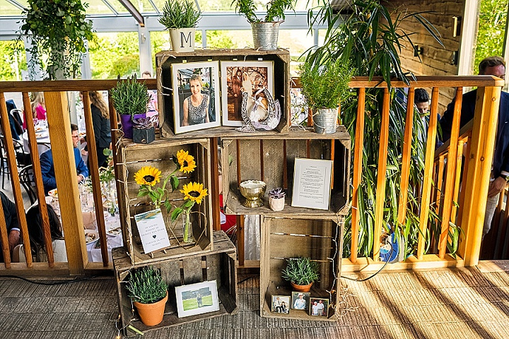 Gemma and Cameron's Botanical Themed Cotswolds Barn Wedding by Dan Morris