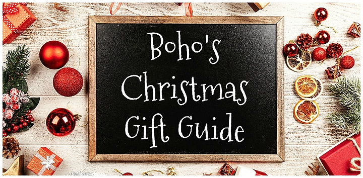 Boho's Christmas Gift Guide #1 - 20th November