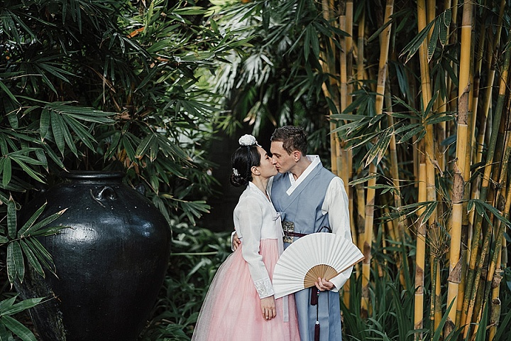 JiYeon and Ludovic's Tropical Rustic Chic Bali Wedding in Two Halves by OneThreeOneFour
