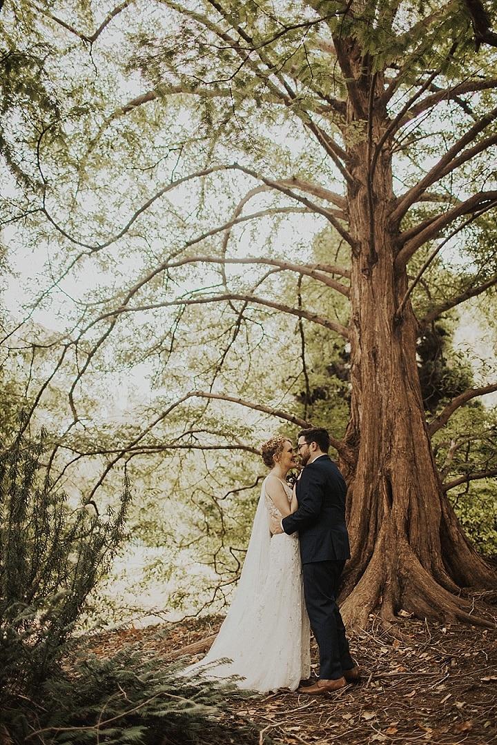 Ashton and Graham's Festive Inspired 'Moody Boho' Washington DC Wedding by Shelly Pate