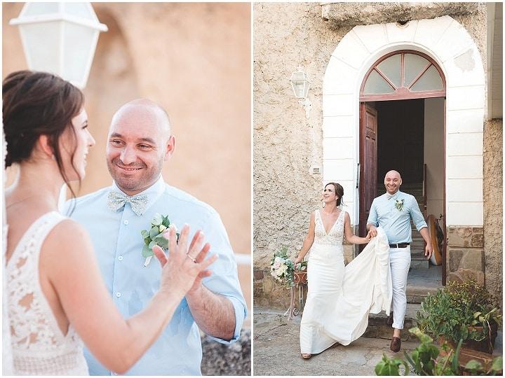 Lewis and Sophia's Relaxed and Romantic Italian Weddingby Boho Chic Weddings