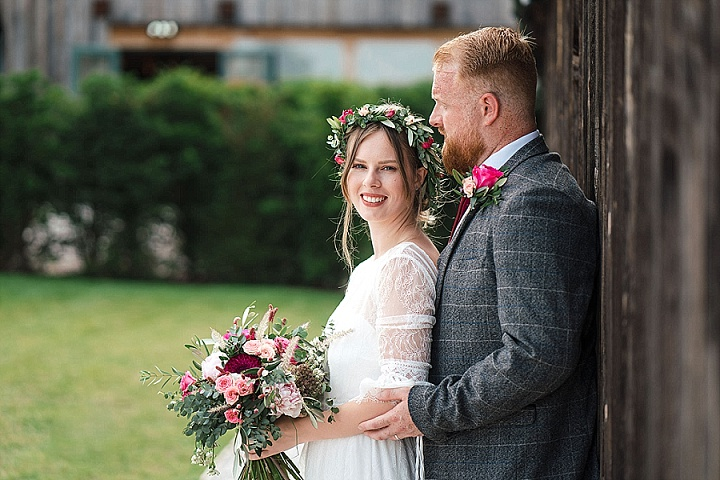 Jennifer and Tom's Disney Themed Nottinghamshire Barn Wedding with a Rustic Twist by Martin Cheung
