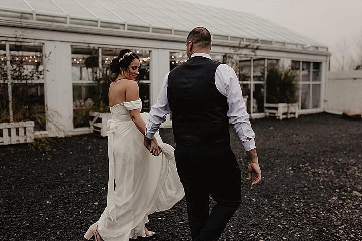 Maggie and Jim's Greenhouse Wedding in New York by Nicole Nero Studio