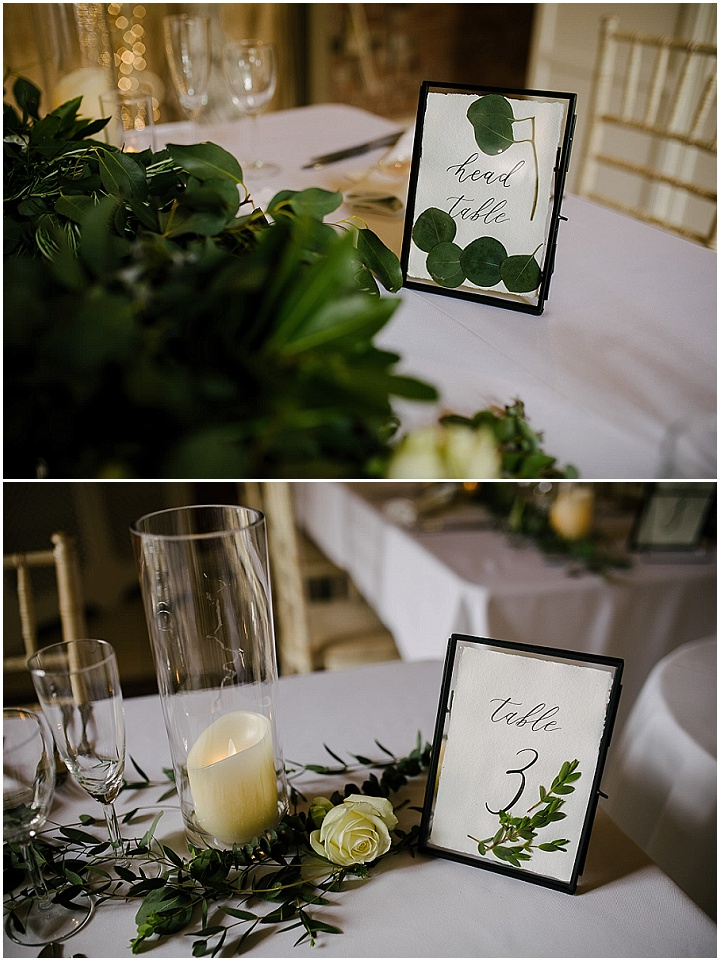 Erin and Mathew's Elegant Barn Wedding in Lincolnshire With a Botanical Theme by Aden Priest Photography