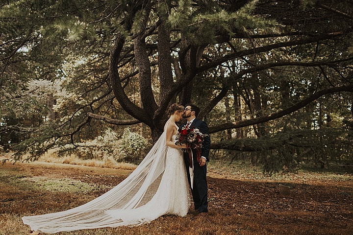 Ashton and Graham's Festive Inspired 'Moody Boho' Washington DC Wedding by Shelly Pate