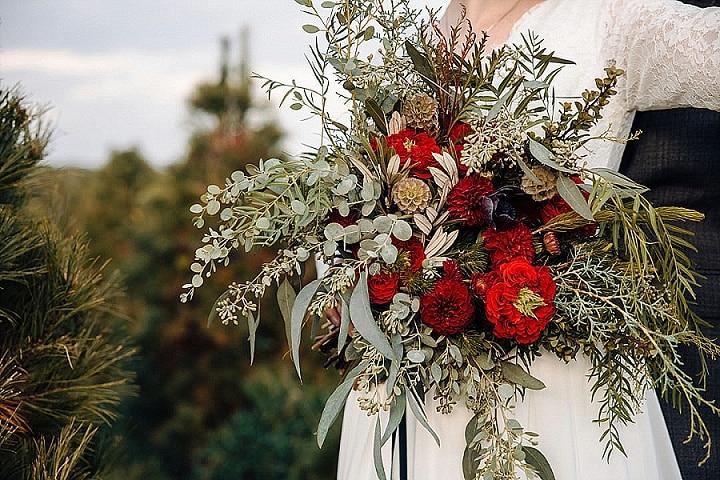 'Love on the Christmas Tree Farm' Christmas Inspired Wedding Inspiration