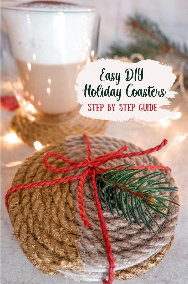 DIY Tutorial: Christmas Coasters