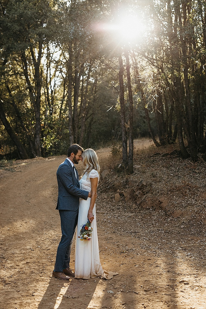 Kat and Zack's 'Close to Nature' Outdoor California Camp Wedding