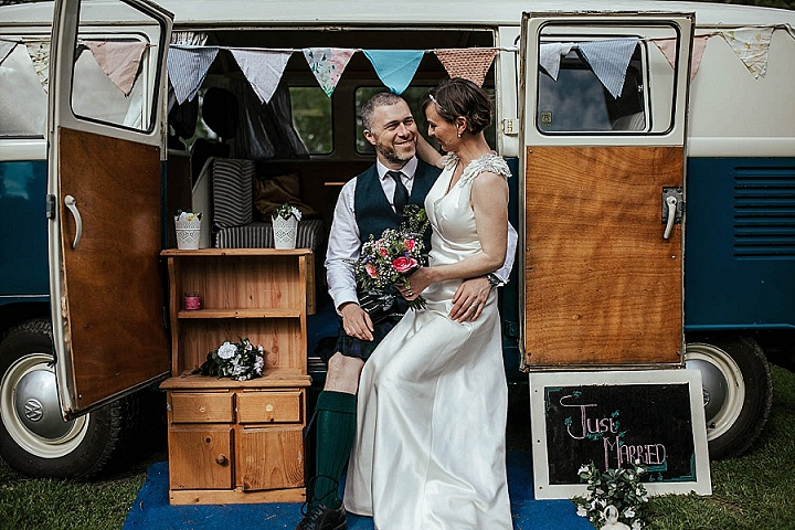 Sinead and Drew's Colourful Outdoor Wedding in The Irish Countryside by Olga Hogan Photography