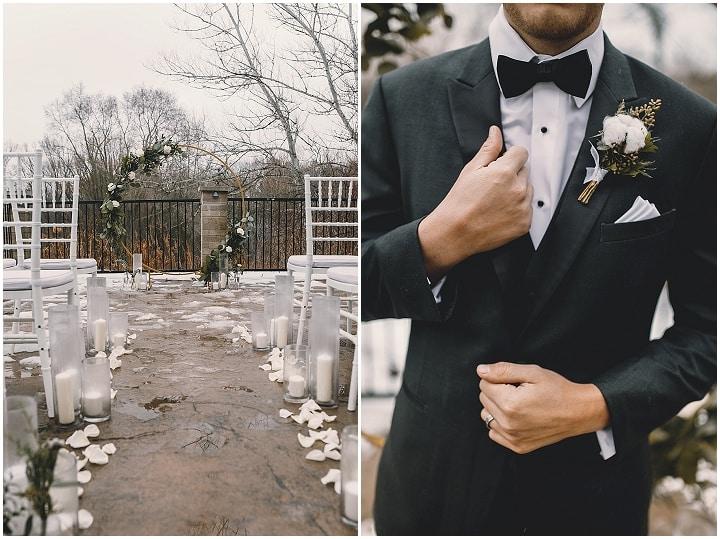 'Old School Romance' - Elegant Winter Wedding Inspiration