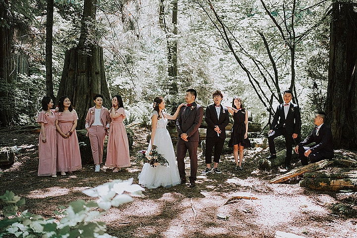 Fay and Jason's Super Glam and Romantic Industrial Wedding in Vancouver