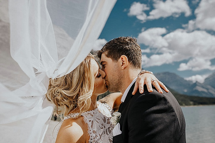 Hailey and Josh's 'Simple Elegance' Romantic Rocky Mountain Wedding in Canada