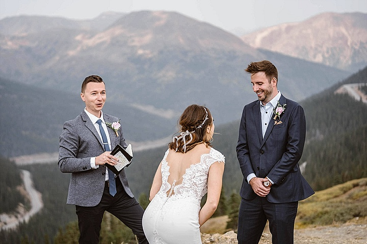 Eliza and Brad's Family Adventure Elopement in Colorado by Vows and Peaks