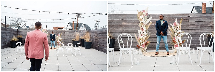 Intimate Industrial Modern Micro Wedding Inspiration