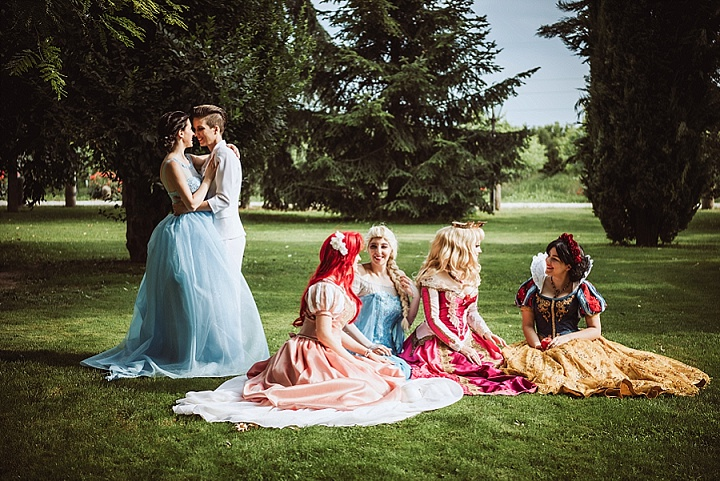 Greta and Flavia's Fairy Tale Italian Wedding by Stefano Cassaro