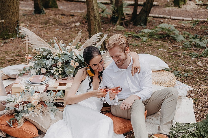 'Woodland Romance' Wild, Natural, Boho Luxe Wedding Inspiration