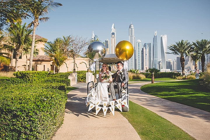 Laura and David's Super Glam Dubai Wedding by Babb Photo