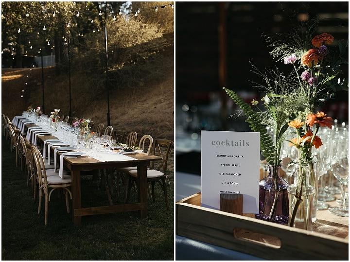 Kat and Zack's 'Close to Nature' Outdoor California Camp Wedding
