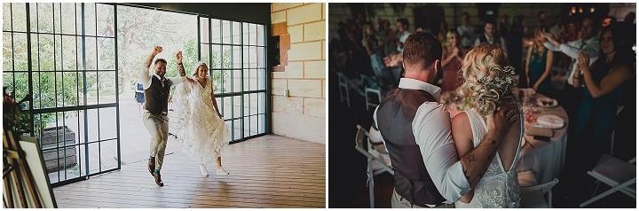Johanna and Dan's Vegan Garden Wedding In Barcelonaby Pearl Sandals