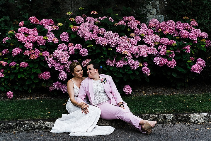Sarah and Lauren's Laid Back Outdoor Wedding in Surrey by Babb Photos