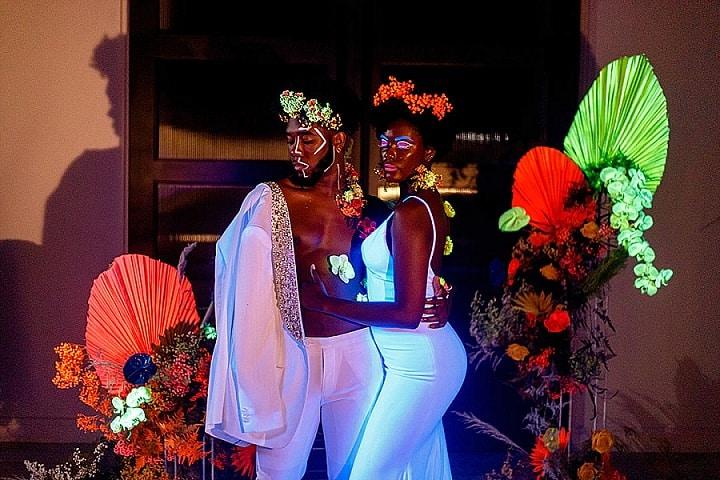 'Neon Glow' Full of Sass Eclectic Neon Wedding Inspiration