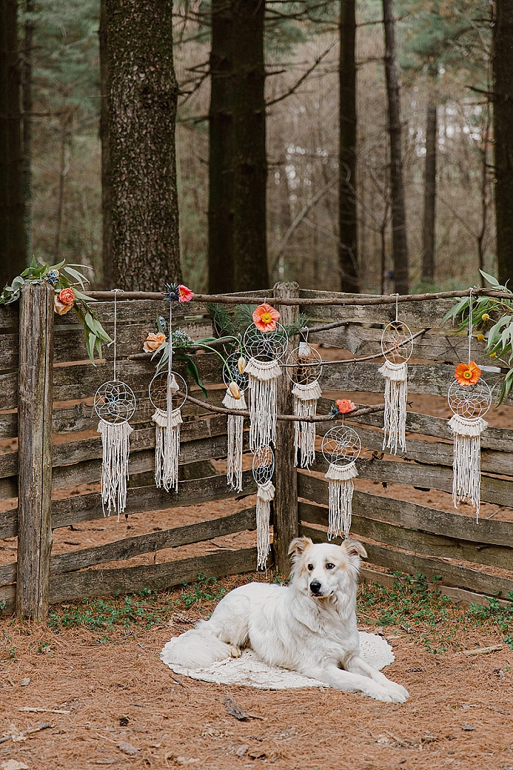 'The Beauty of Nature' Intimate, Whimsical Wedding in the Woods