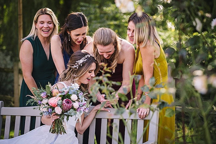 Alice and Andy's 'Rustic Chic' Flower Filled Intimate Essex Wedding by Angels With Dirty Faces