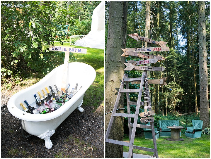 Matt and Lauren's 'Wild and Gorgeous' DIY Woodland Wedding in Kent by Lawless Rose Photography