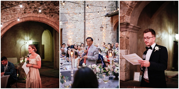 Nicola and Owen's Romantic, Fairy Tale Castle Wedding in Tuscany