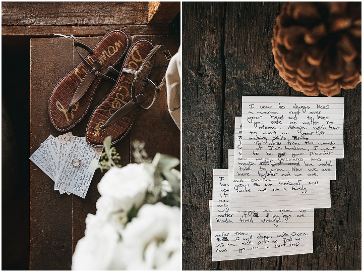 Adrienne and Colin's Intimate Lakefront Wedding at a Private Cabin in Californiaby VILD Photography