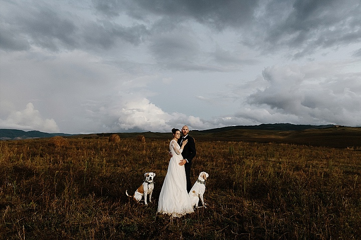 Maria and Ingo's 3 Day Dog Friendly Tuscany Elopement By Briars Atlas