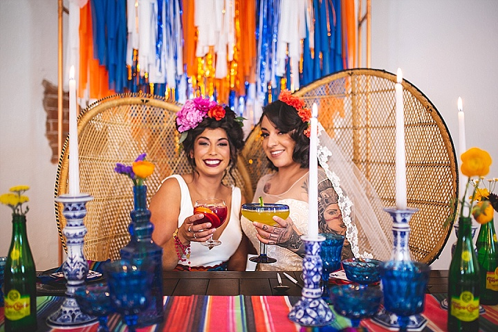 'Boho Fiesta' Vivid, Vibrant Mexican Inspired Wedding Inspiration